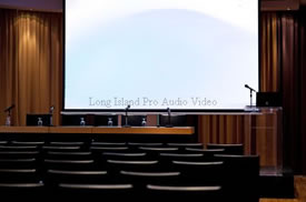 nassau county conference room audio video